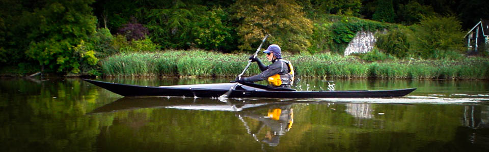 ... for Shrike, a lightweight sea kayak for stitch and glue construction